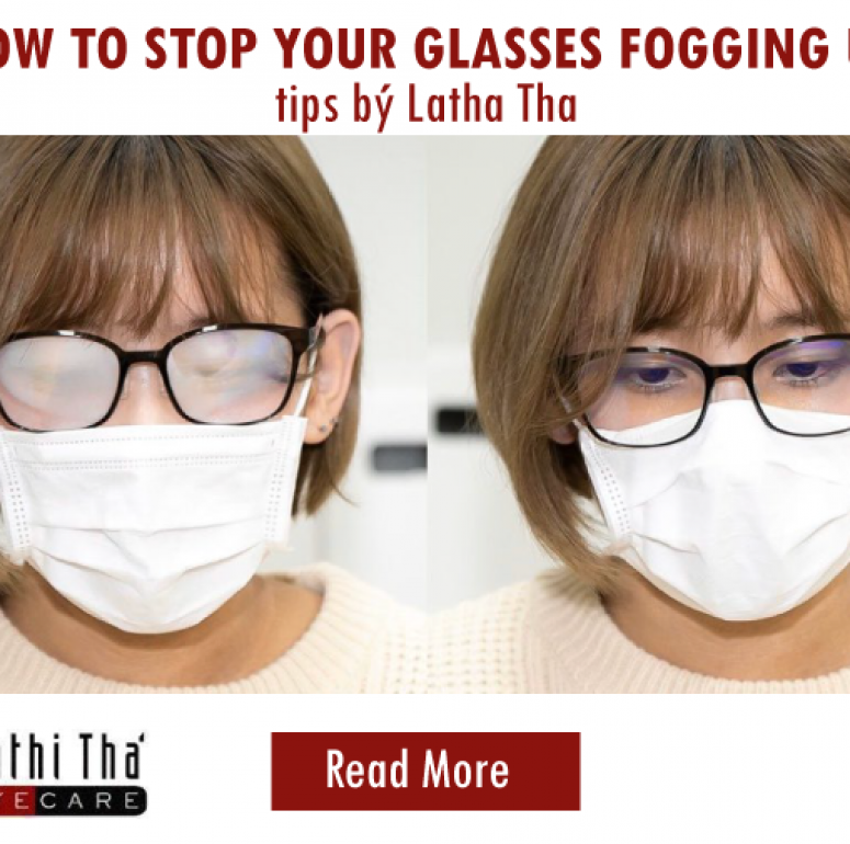 HOW TO STOP YOUR GLASSES FOGGING UP